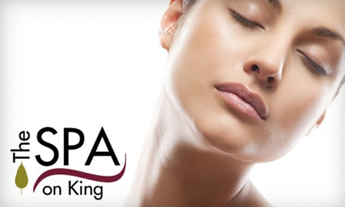 The Spa on King - Downtown Oshawa: $39 for a 60-Minute Blissed Out Back Treatment at The Spa on King in Oshawa