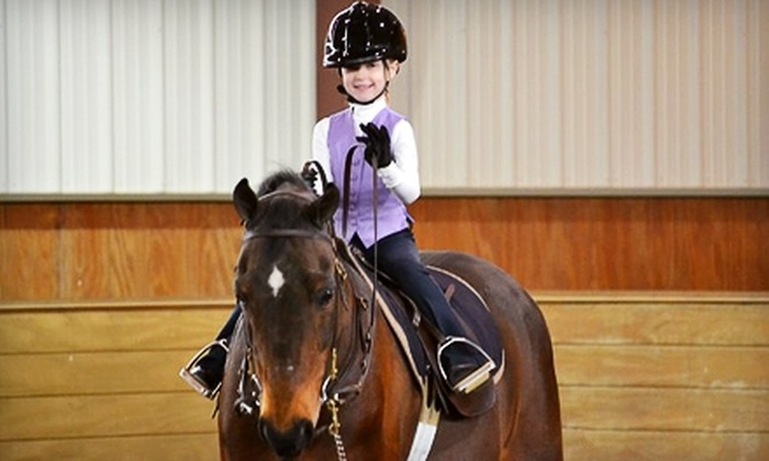 Liberty Stables - Salem: $39 for Two Half-Hour Private Lessons at Liberty Stables in South Lyon ($80 Value)
