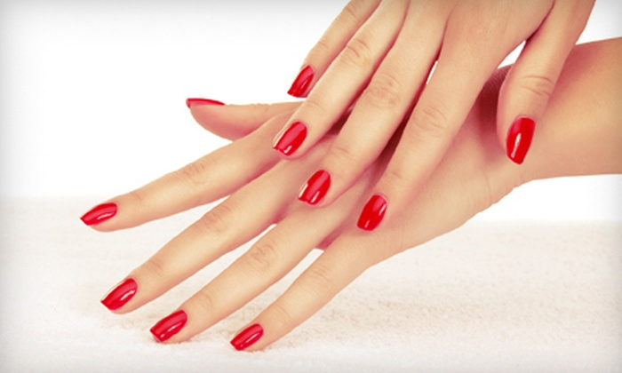 Natural Esthetics - Hartley: One or Three Shellac Manicures at Natural Esthetics (Up to 57% Off)