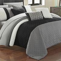 Deals on Agathe Comforter Set 10-Piece Queen
