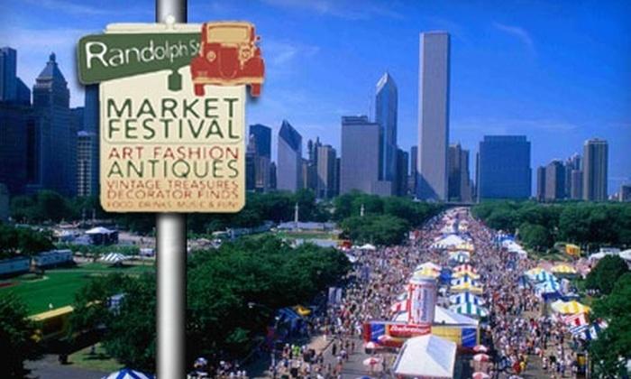Randolph Street Market - Multiple Locations: $4 for One-Day Admission to the Randolph Street Market Festival ($9 Value)