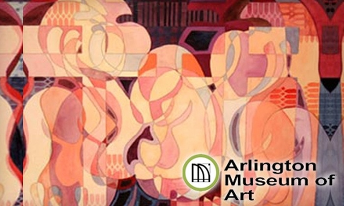 Arlington Museum of Art - Arlington: One-Year Membership to Arlington Museum of Art in Arlington. Two Options Available.