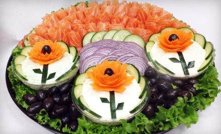 Sandwich Platter for 10 (an $89 value) - Bethesda Bagels in Washington DC