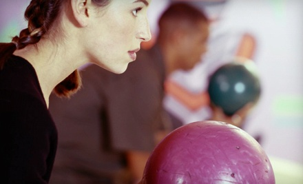 2 Games of Bowlling and Shoe Rental for 4 on Sun.-Thu. - Holiday Bowling Center in Hallandale Beach