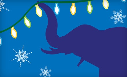 Two Children's Tickets to Zoo Lights - Fresno Chaffee Zoo in Fresno