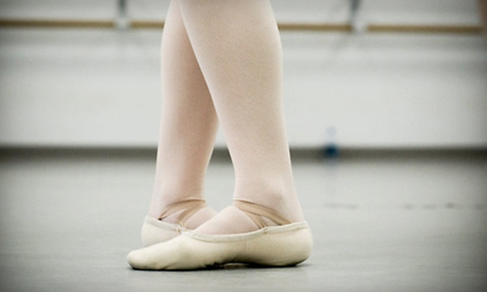American Dance Center - Kansas City: One Month of Children's Ballet Classes at the American Dance Center
