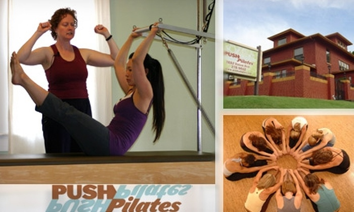 Push Pilates - Idlewild - East End Historical Association: $17 for Three Pilates Mat Classes at Push Pilates ($39 Value)