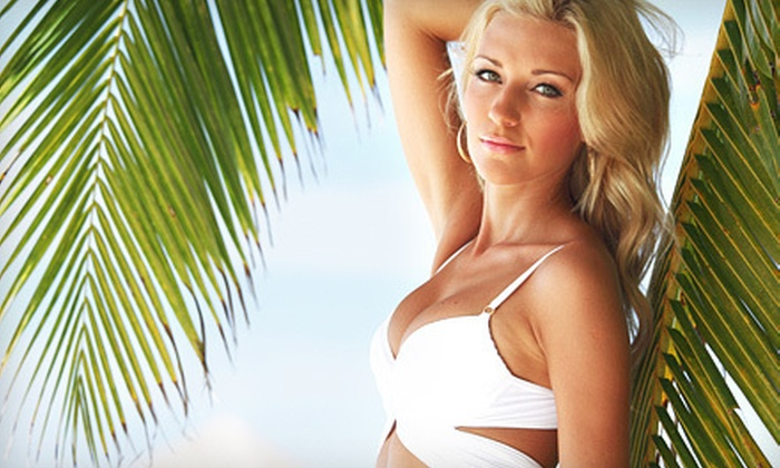Native Sun Tanning & Spa - Clover Hill: $39 for 10 UV Tans, Three Mystic Spray Tans, or Red-Light Therapy at Native Sun Tanning & Spa in Midlothian (Up to $89 Value)