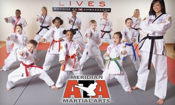 Meridian ATA Martial Arts - Meridian: $30 for Four Karate for Kids Classes, One Personal Training Session, and a Uniform at Meridian ATA Martial Arts ($145 Value)