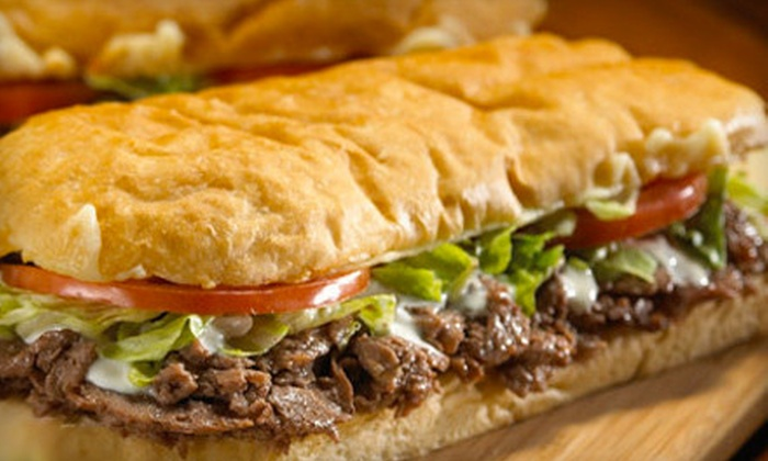 Samuel Mancino's - Multiple Locations: $10 for $20 Worth of Grinders, Pizza, and Italian Fare at Samuel Mancino's