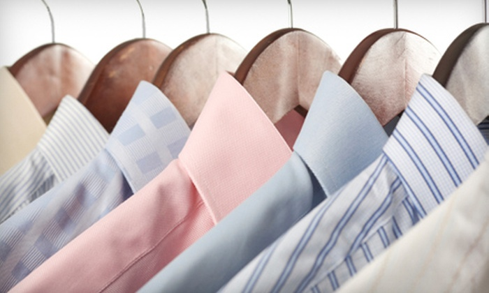 1-800-DryClean - Fisher's Village: $20 for $40 Worth of Pick-Up and Delivery Dry-Cleaning Services from 1-800-DryClean