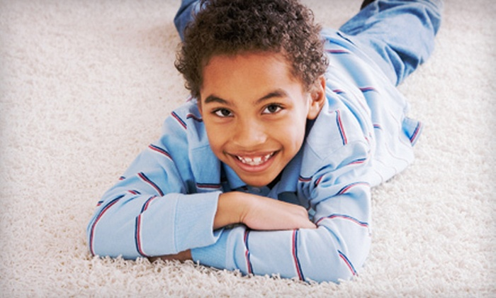 A-1 Carpet Cleaners - East Akron: $49 for Three Rooms of Basic Steam Cleaning from A-1 Carpet Cleaners ($99 Value)