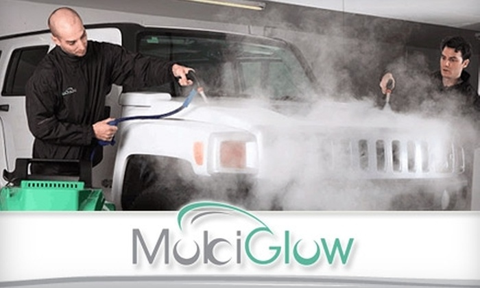 MobiGlow - Vancouver: $29 for Two Steam Car Washes and Two Hours of Parking from MobiGlow (Up to $67.20 Value)