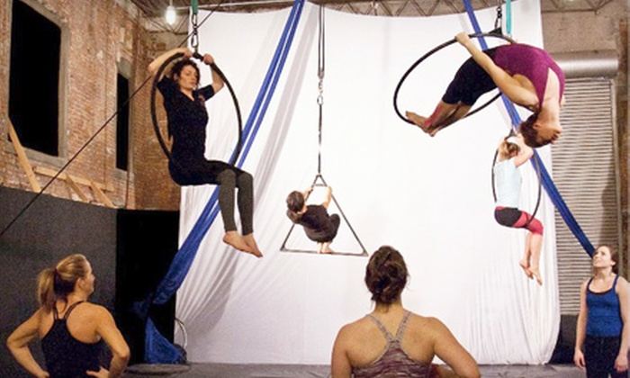 Quixotic Fusion School of Performing Arts - Longfellow: $30 for Three Dance, Aerial, or Arts Classes at Quixotic Fusion School of Performing Arts (Up to $75 Value)