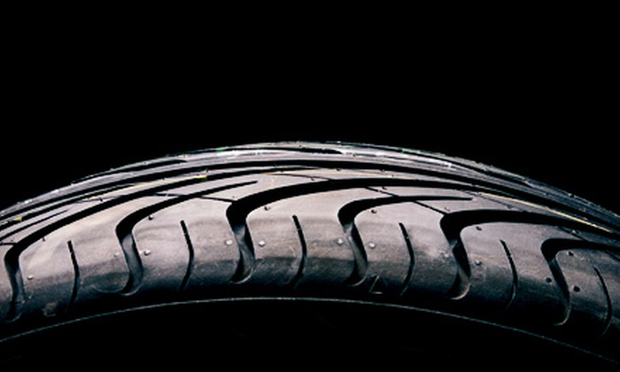 Butler Auto Group - Multiple Locations: $30 for $100 Worth of Tires, Wheels, and Installation at Butler Auto Group. Four Locations Available.