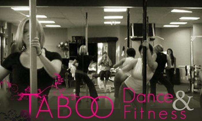 Taboo Dance & Fitness - Victoria: $40 For a Six-Week Session of Pole Dancing 101 Classes (Up to a $132 value) at Taboo Dance & Fitness