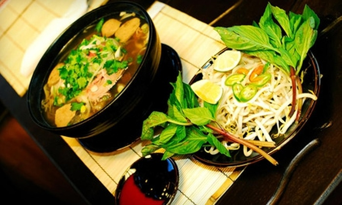 Hakata Asian Cuisine - Seven Bar Ranch: $10 for $20 Worth of Pho, Yakitori, and Traditional Asian Fare at Hakata Asian Cuisine
