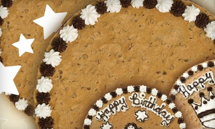 "Great American Cookies - Multiple Locations: $12 for a 16"" Round Cookie Cake From Great American Cookies ($30.99 value)"