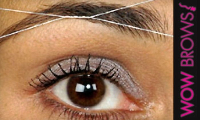 Wow Brows! - Multiple Locations: $6 for Eyebrow Threading at Wow Brows!