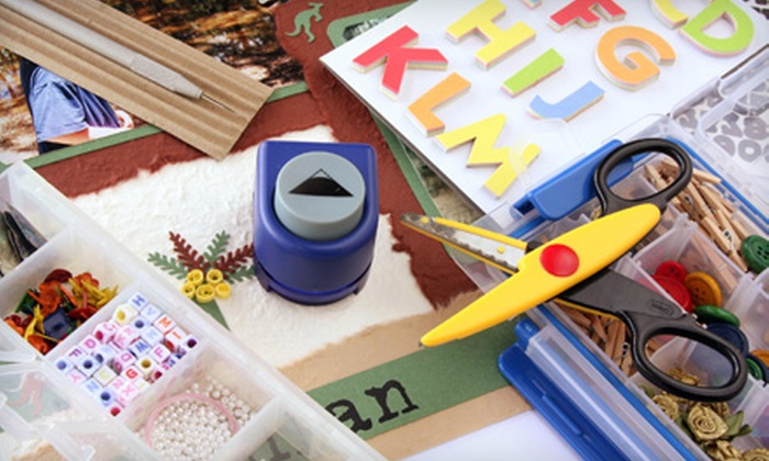 The Outlet - Garfield Park: $20 for $40 Worth of Arts, Crafts, and Home Décor at The Outlet
