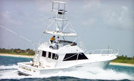 60 off deep sea fishing trip corsair sport fishing for Groupon deep sea fishing
