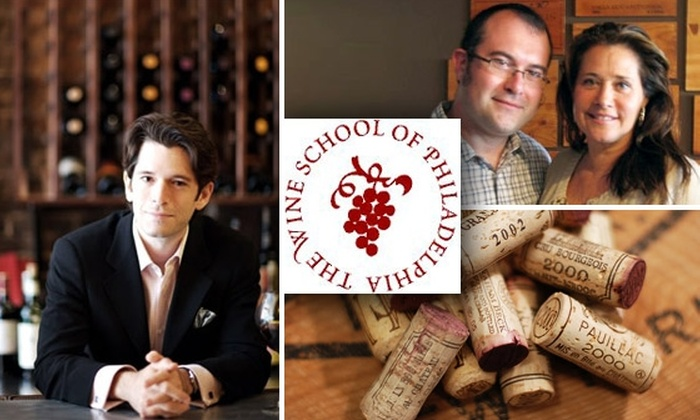 The Wine School - Fairmount/Art Museum: $25 for $50 Worth of Wine Classes at The Wine School