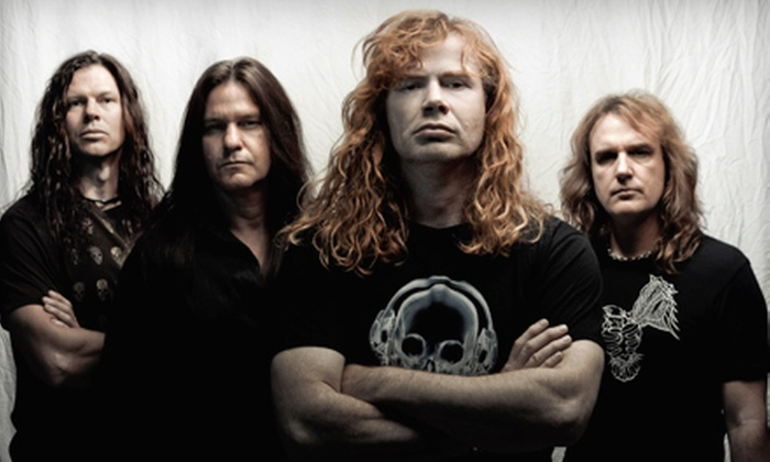 Gigantour - Glens Falls: $24 for Outing to Gigantour with Megadeth and Motörhead at Glens Falls Civic Center on February 1 (Up to $48.99 Value)