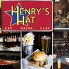 60% Off American Pub Food at Henry's Hat