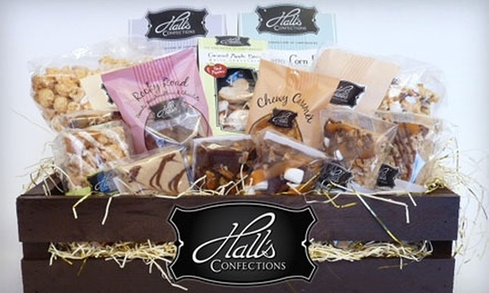 Hall's Confections: $35 for One Treat Crate from Hall's Confections ($75 Value) or $15 for Six Pieces of Fudge ($30 Value)
