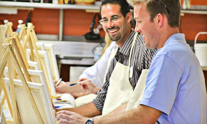 Alla Prima Creations - Juno Beach: Two-Hour BYOB Painting Class for 2, 4, or 10 at Alla Prima Creations in Juno Beach (Up to 72% Off)