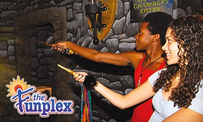 The Funplex - East Hanover: $6 for Unlimited MagiQuest Including Loaner Wand at The Funplex