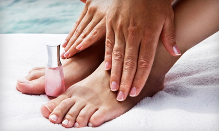Alter Ego Salon & Day Spa - Charlotte: One, Three, or Five Classic Mani-Pedis at Alter Ego Salon & Day Spa (Up to 66% Off)
