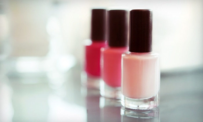 Bewitched Nail Salon - Dobson Woods: $29 for a Classic Manicure and Deluxe Pedicure at Bewitched Nail Salon ($74 Value)