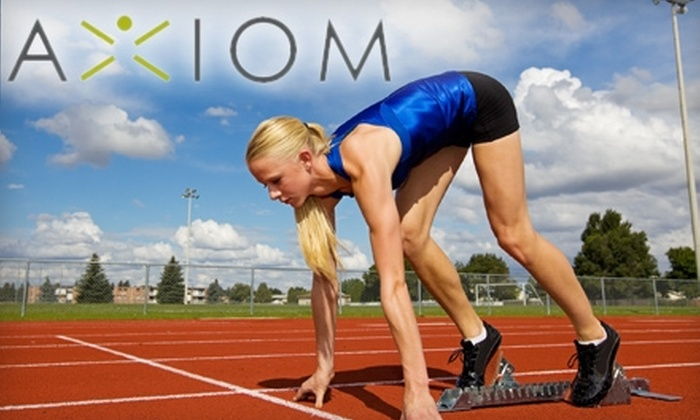 Axiom Health & Fitness - Brookfield: $50 for a One-Month Youth-Athlete Camp and Three Smoothies at Axiom Health & Fitness