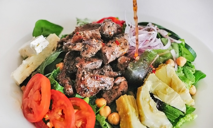 Petra Cafe - Forest Hill Location: Mediterranean Food for Lunch or Dinner at Petra Cafe (Up to 46% Off)