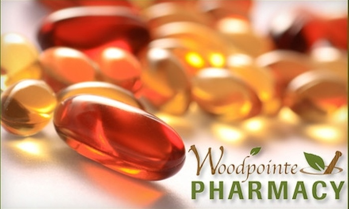 Woodpointe Pharmacy - Grand Rapids: $15 for $30 Worth of Goods or Prescriptions at Woodpointe Pharmacy