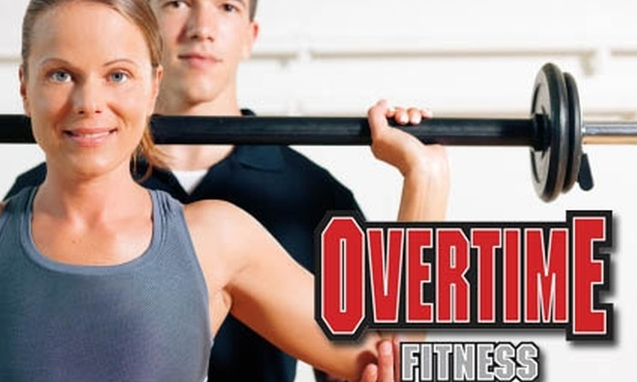 Overtime Fitness - Mountain View: $29 for a 14-Day Membership, Fitness Assessment, and Three Sessions with a Personal Trainer at Overtime Fitness in Mountain View