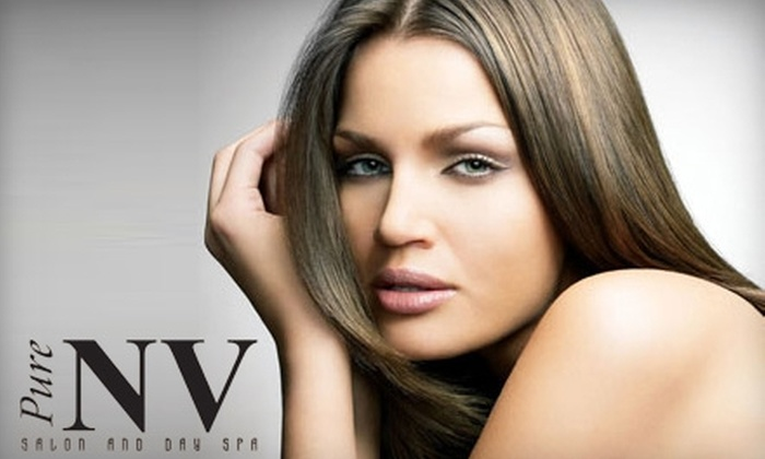 Pure NV Salon & Day Spa - Taylor: Services at Pure NV Salon & Day Spa in Taylor. Choose from Two Options.
