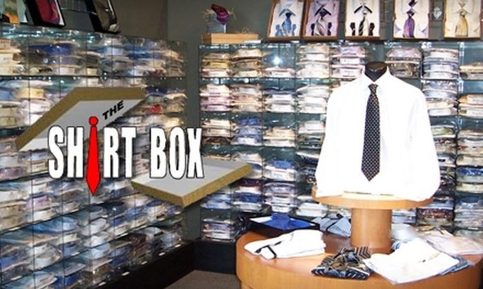 The Shirt Box - Farmington: $25 for $50 Worth of Menswear at The Shirt Box in Farmington Hills