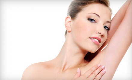 6 Laser Hair Removal Treatments on a Small Area  - Glow Salon and Med Spa in Irving