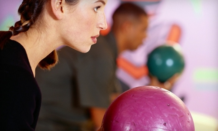 Rose Bowl - Centennial: $14 for Three Bowling Games, Shoe Rental, Hot Dogs, and Sodas for Two at Rose Bowl (Up to $36.50 Value)