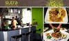 Sutra - Wallingford: Four-Course, Prix-Fixe Vegetarian Meal at Sutra