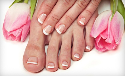 Manicure and a Pedicure (an $85 value) - Radiance Salon & Spa in Sparks