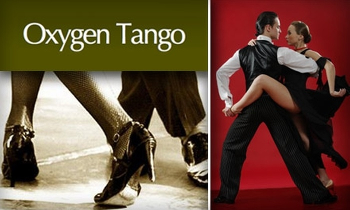 Oxygen Tango - Culver - West: $25 for Four Beginning Classes at Oxygen Tango ($49 Value)