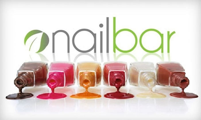 Nail Bar - Wynwood: $29 for a Mani-Pedi or a Brazilian Wax at Nail Bar. Choose Between Two Options.