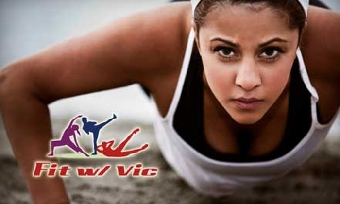 Fit With Vic - Multiple Locations: $20 for One Month of Boot Camp at Fit with Vic ($110 Value)