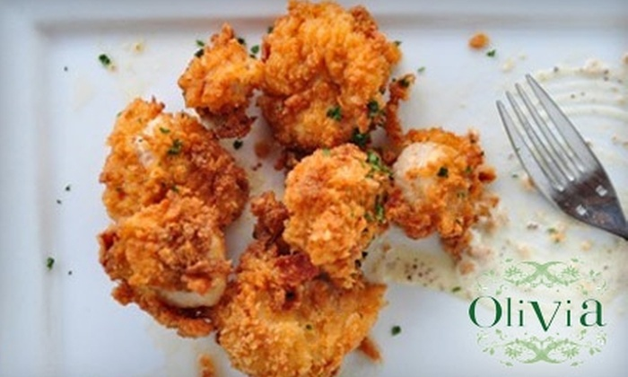 Olivia - Zilker: $25 for $50 Worth of Dinner or $15 for $30 Worth of Lunch at Olivia