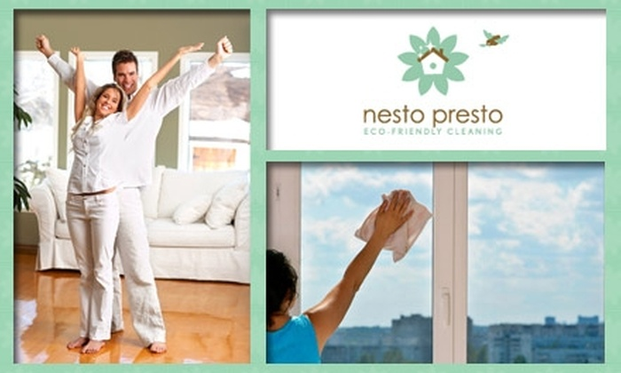 Nesto Presto - Austin: $65 for 3.5-Hour Eco-Friendly Cleaning from Nesto Presto