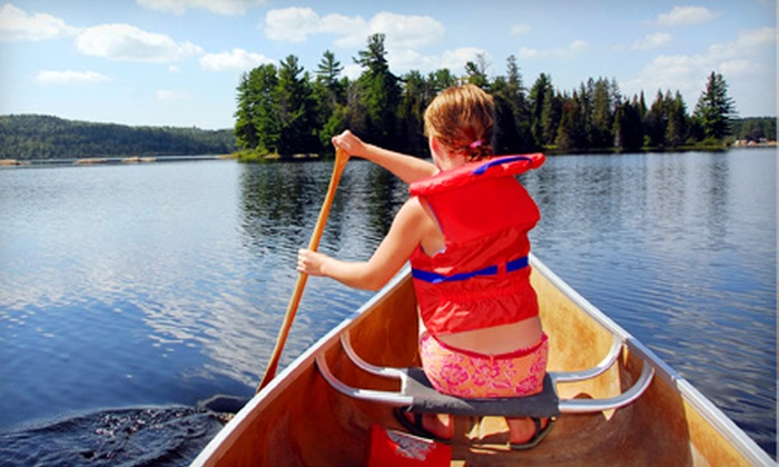 Smoothwater of Temagami - Temagami: $12 for a Canoe Trip for Two from Smoothwater of Temagami ($25 Value)