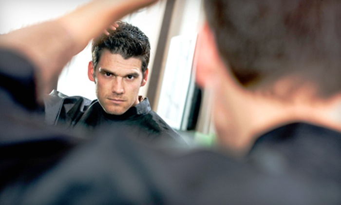 Roosters Men's Grooming Center - Dulles: Men's Haircut with or without Shave at Roosters Men's Grooming Center in Ashburn (Up to 57% Off)